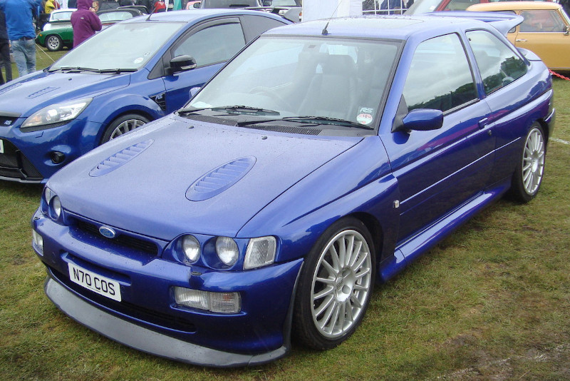 Ford Escort Cosworth po faceliftingu