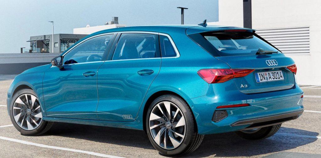 Audi A3 tył