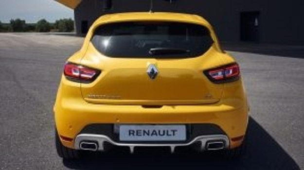 Renault Clio RS 220 Tył