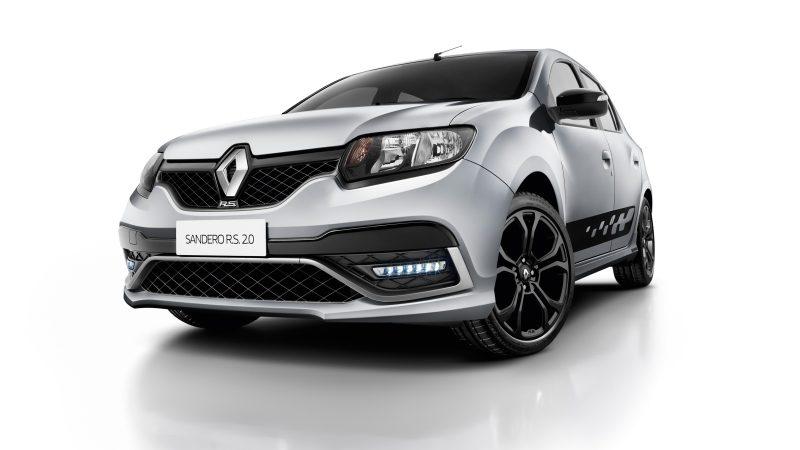 Renault Sandero 2.0. R.S. - wygląd - wersja biała