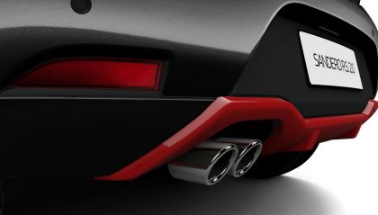 Renault Sandero 2.0. R.S. - wydech